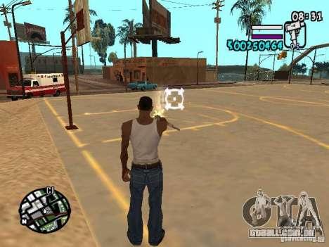 HUD by Hot Shot v2.1 para GTA San Andreas terceira tela