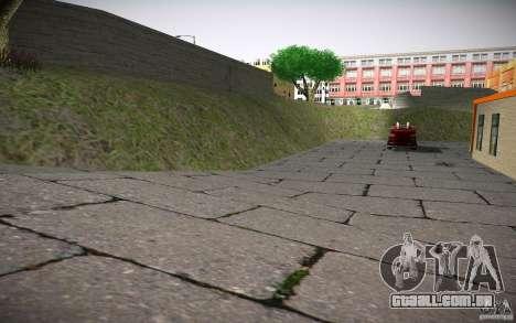 Departamento de fogo HD para GTA San Andreas sexta tela