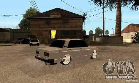 VAZ Lada 2107 LT para GTA San Andreas
