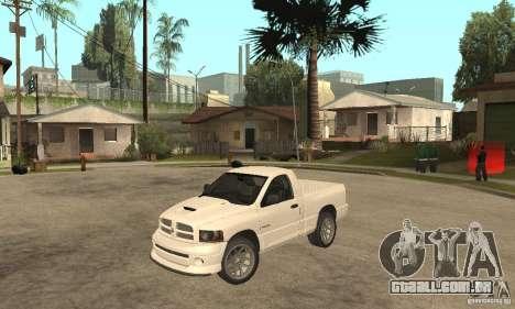 Dodge Ram SRT 10 para GTA San Andreas