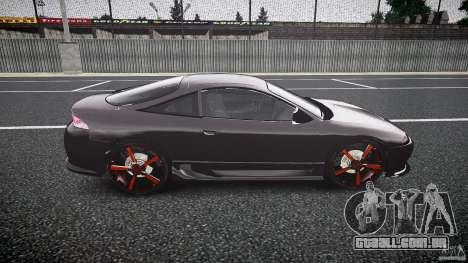 Mitsubishi Eclipse Tuning 1999 para GTA 4 vista de volta