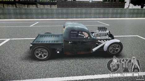 Ford Ratrod 1936 para GTA 4 esquerda vista