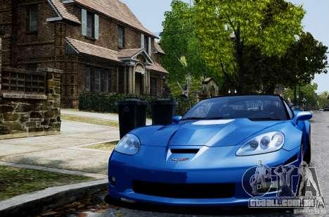 Chevrolet Corvette ZR1 para GTA 4 esquerda vista