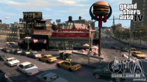 Imagens de inicialização no estilo do GTA IV para GTA San Andreas nono tela