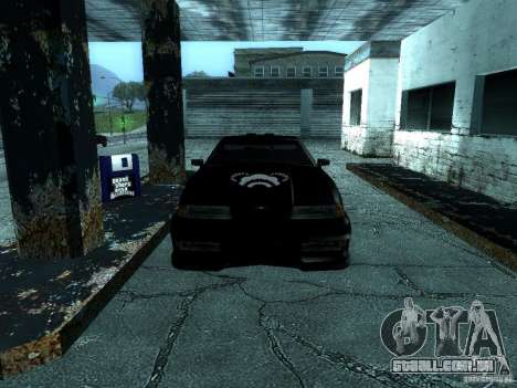 Vinil grande Lou de Most Wanted para GTA San Andreas vista traseira