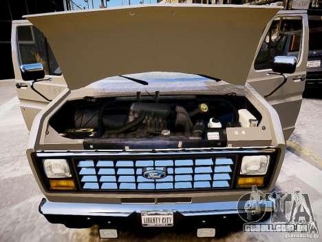 Ford E-150 1979 Short Version para GTA 4 vista lateral