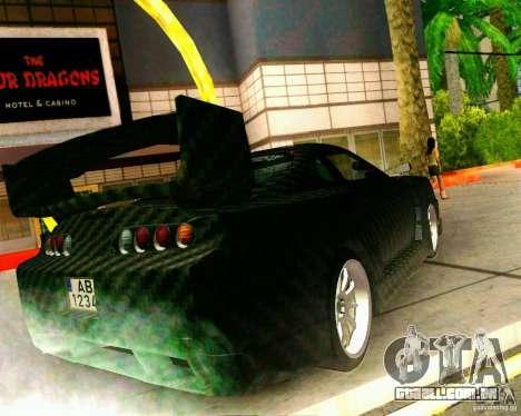 Toyota Supra Carbon para GTA San Andreas esquerda vista
