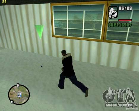 Jogue uma bola de neve para GTA San Andreas