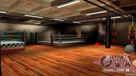 Ginásio para GTA San Andreas