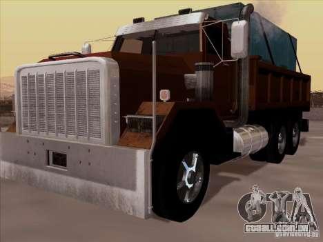 New Flatbed para GTA San Andreas