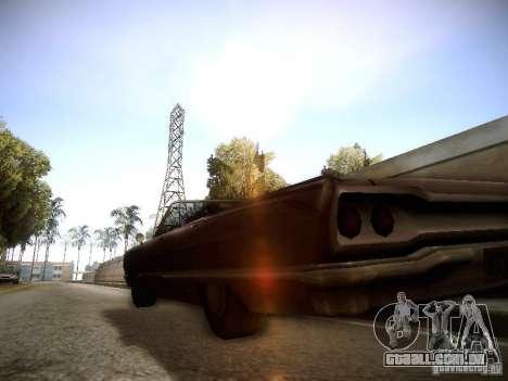 SA DirectX 1.1 Beta para GTA San Andreas segunda tela