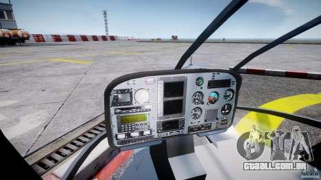 Eurocopter EC 130 NYPD para GTA 4 vista direita