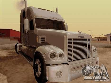Freightliner Coronado para GTA San Andreas esquerda vista