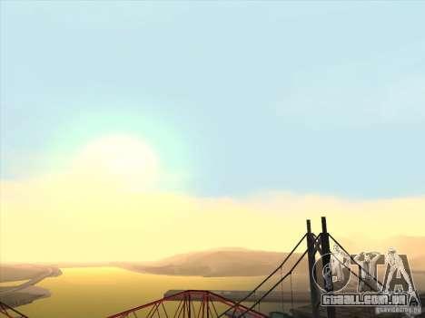 Um realista Timecyc para GTA San Andreas segunda tela