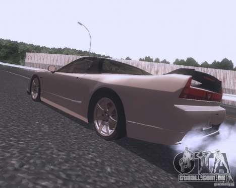 Honda NSX Japan Drift para GTA San Andreas esquerda vista
