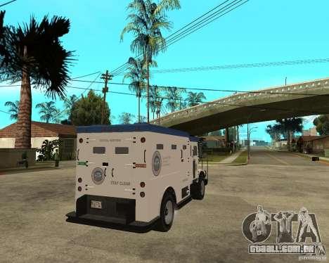 NSTOCKADE de GTA IV para GTA San Andreas traseira esquerda vista