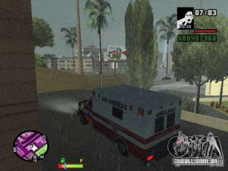 Auto-Repair para GTA San Andreas por diante tela