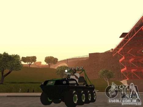 Veículo todo - terreno Argo Avenger para GTA San Andreas