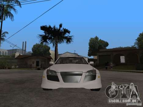 Lexus IS300 NFS Carbon para GTA San Andreas vista direita