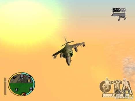 GTA IV HUD v2 by shama123 para GTA San Andreas segunda tela