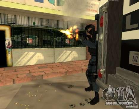 Los Angeles S.W.A.T. Skin para GTA San Andreas terceira tela