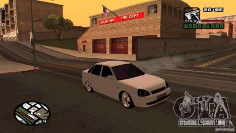 Lada Priora Tuning para GTA San Andreas