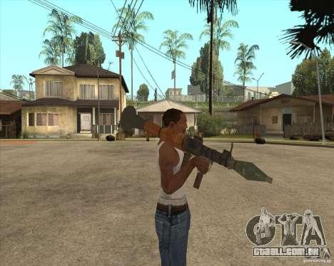 O RPG-7 para GTA San Andreas terceira tela