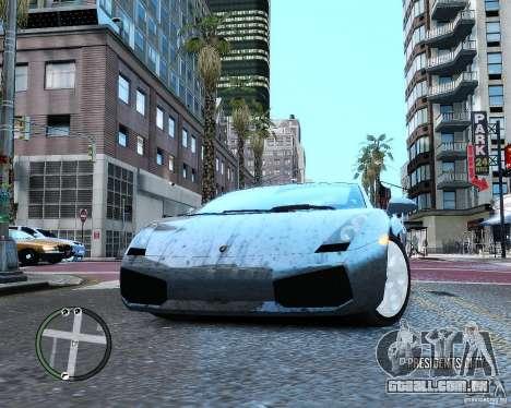 Lamborghini Gallardo 2005 para GTA 4 vista interior