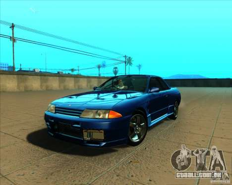 Nissan Skyline GT-R R32 1993 Tunable para GTA San Andreas vista interior