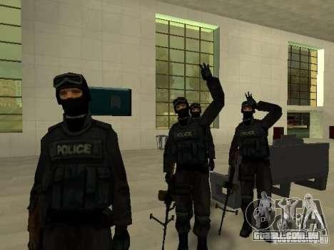 Ajuda Swat para GTA San Andreas oitavo tela