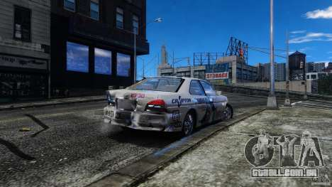 Nissan Laurel GC35 Itasha para GTA 4 vista interior