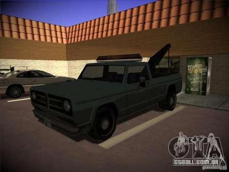 Caminhão de reboque de Sadler para GTA San Andreas