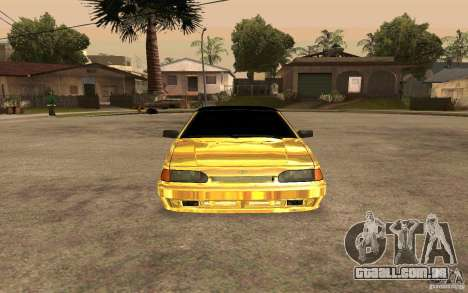ВАЗ 2114 OURO para GTA San Andreas vista direita