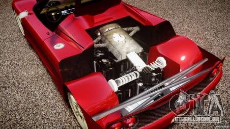 Ferrari F50 Spider v2.0 para GTA 4 vista de volta