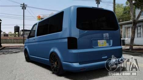 Volkswagen Transporter T5 2010 para GTA 4