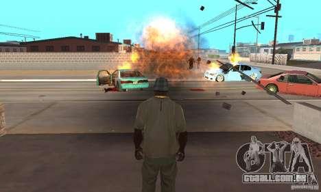 Hot adrenaline effects v1.0 para GTA San Andreas por diante tela