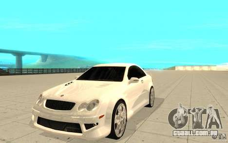 Mercedes-Benz CLK 500 Kompressor para GTA San Andreas