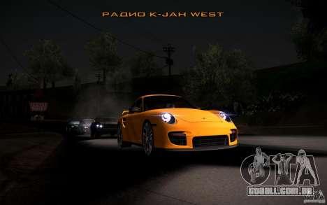 Lensflare para GTA San Andreas oitavo tela