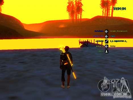 Pele pack para samp rp para GTA San Andreas por diante tela