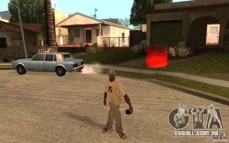 Life para GTA San Andreas quinto tela