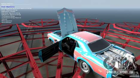 Afterburner Flatout UC para GTA 4 vista superior