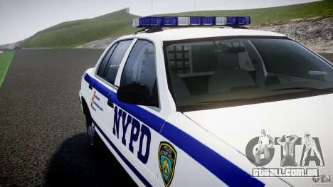 Ford Crown Victoria NYPD [ELS] para GTA 4 motor