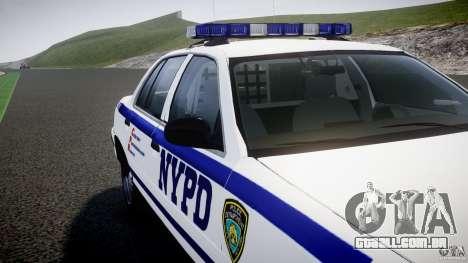 Ford Crown Victoria NYPD [ELS] para GTA 4 motor