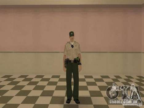 Los Angeles Police Department para GTA San Andreas terceira tela
