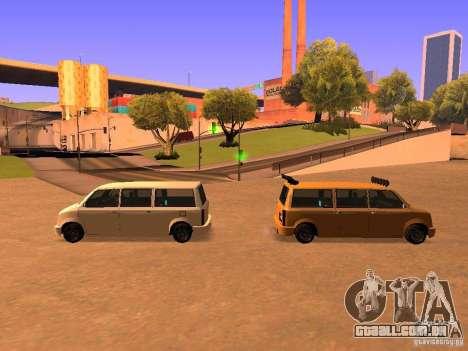 Moonbeam NN para GTA San Andreas vista inferior