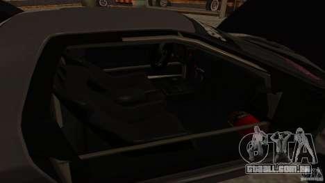 GTA Shift 2 Mazda RX-7 FC3S Speedhunters para GTA San Andreas vista interior