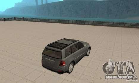 Mercedes-Benz GL500 para GTA San Andreas esquerda vista