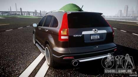 Honda C-RV SeX_BomB 2007 para GTA 4 traseira esquerda vista