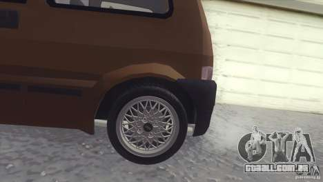 Fiat Cinquecento para GTA San Andreas esquerda vista