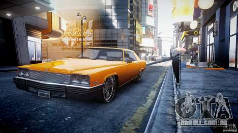 Manana Tuned para GTA 4 vista de volta